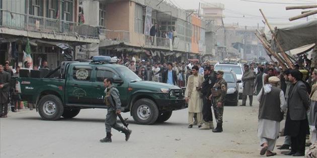 Afganistan'da seçim mitingine intihar saldırısı: 13 ölü