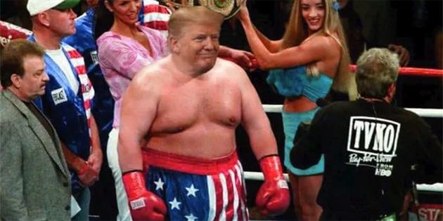 Trump, dalga konusu oldu
