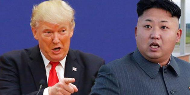 Trump'tan Kim'e: 'Benim nükleer düğmem seninkinden büyük'