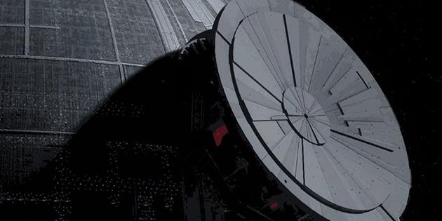 Star Wars'daki Ölüm Yıldızı böyle yapılmış…