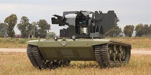 Türkiye'nin İlk İnsansız Mini Tankı İçin Kollar Sıvandı