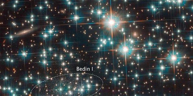 Hubble, yaşayan fosil bir galaksiyi yanlışlıkla keşfetti