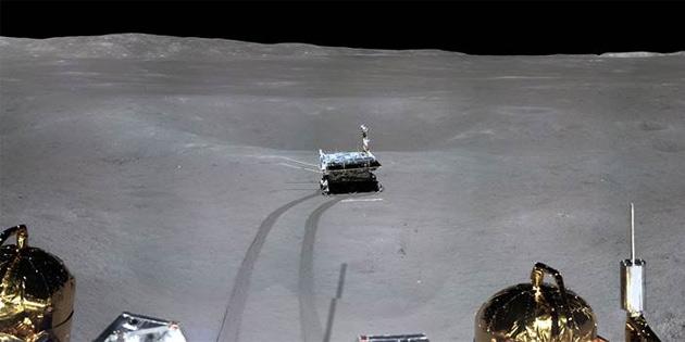Chang'e 4, Ay'ın uzak yüzünde beklenmedik bir soğukla karşılaştı