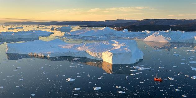 Grönland, Kendi Rekorunu Kırarak Tek Günde 12,5 Milyar Ton Buz Kaybetti