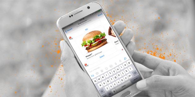 Burger King, Messenger üzerinden sipariş almaya başladı!