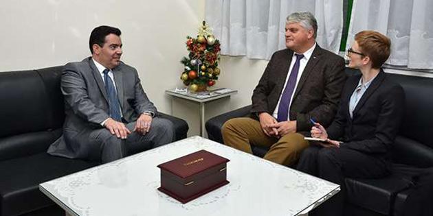 Fokaidis, Almanya Savunma Bakanlığı Müsteşarı ile görüştü