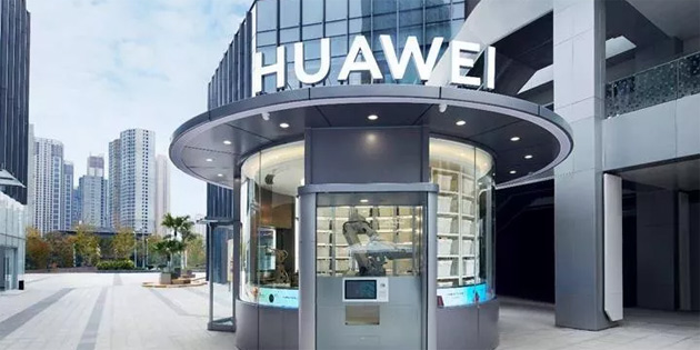 Huawei, çalışanı olmayan ilk mağazasını açtı