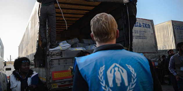 BM konvoyu Doğu Guta'ya girdi