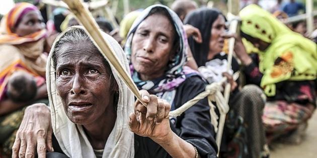 Arakanlı müslümanlara etnik temizlik devam ediyor