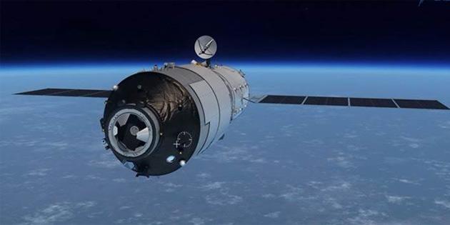 Çin'in kontrolden çıkan uzay istasyonu, önümüzdeki haftalarda Dünya'ya düşecek