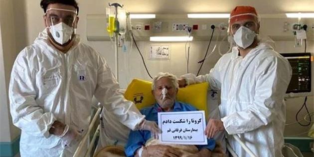 106 Yaşındaki Adam, Koronavirüsü Yenen En Yaşlı Kişi Oldu