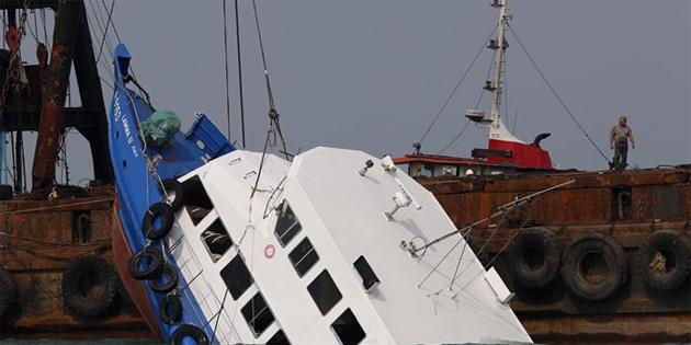 Kazada kaybolan 5 balıkçının cesedine ulaşıldı