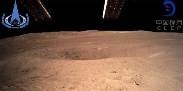 Çin, Ay'ın Karanlık Yüzü'ne İnmeyi Başardı