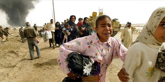 Irak'ın işgalinden bu yana yarım milyon insan öldü