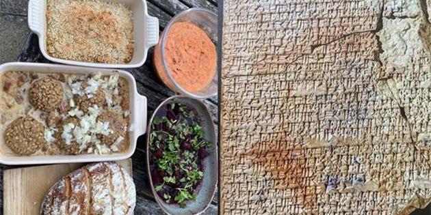 4000 yıllık tabletteki yemeği yaptı