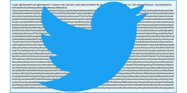 35.000 harfli tweet attılar!