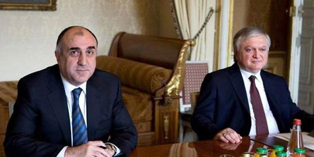 Azerbaycan Ve Ermenistan Dışişleri Bakanları, Dağlık Karabağ sorununu görüştü