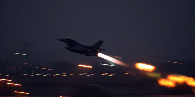 ABD Suriye'de İran güçlerini vurdu!