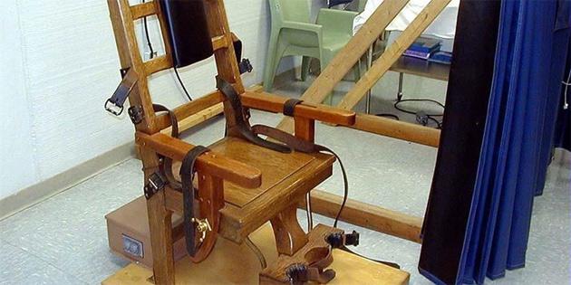 Güney Carolina eyaletinde elektrikli sandalyeyle infaza onay