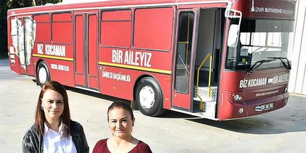 İhtiyacı olanlar için giysi otobüsü tasarladılar