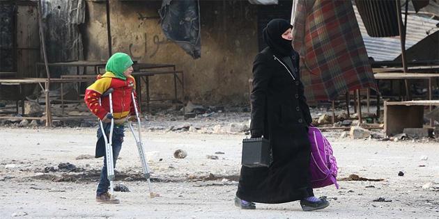 'Fransa'nın Suriye'deki önceliği insanlık dramının sona erdirilmesi'