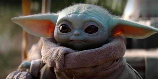 Bebek Yoda, Bir Eyaletin Elektronik Trafik Levhasında Yer Aldı