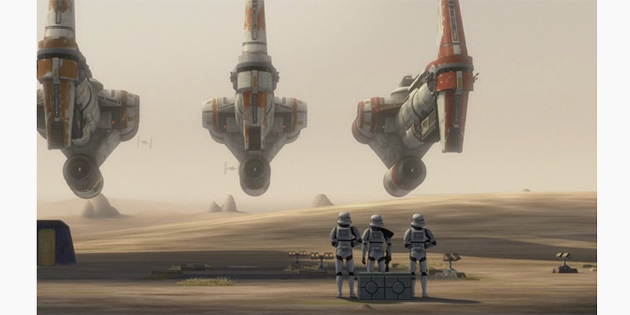 Star Wars Rebels'teki Gemiler, Neden Rogue One'da Görüldü?