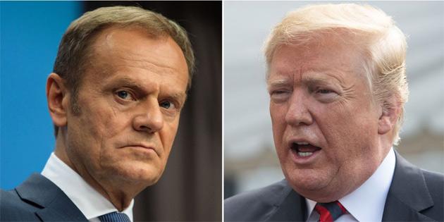 AB'den Trump'a 'Dostlarının kıymetini bil' çağrısı