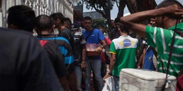Brezilya'daki Venezuelalı göçmenler ülkelerine geri dönüyor