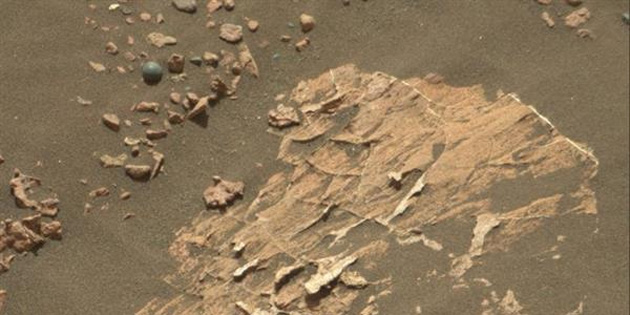 Mars'ta 'top güllesi' bilmecesi