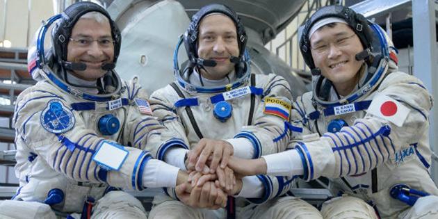 Astronotun boyu uzayda dokuz cm uzadı!