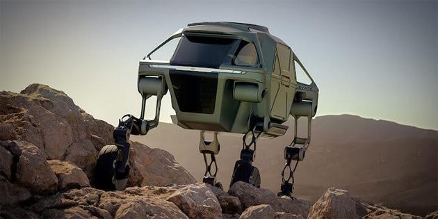 Hyundai, Yürüyen Araba Tasarladı