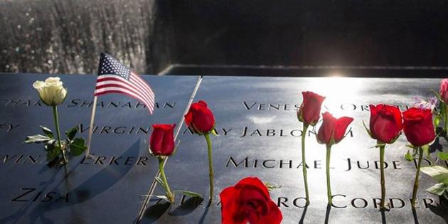 11 Eylül saldırılarının 17'inci yılında yaşamını yitirenler anıldı