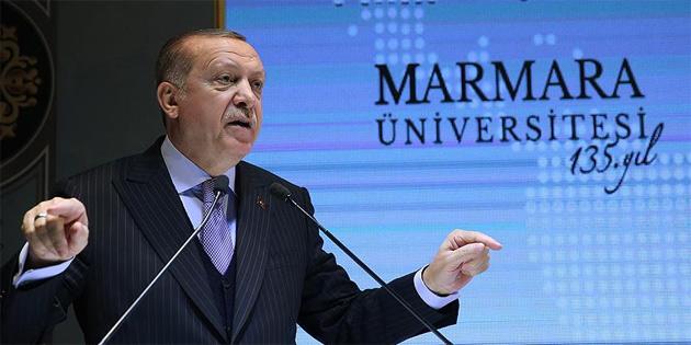 TC Cumhurbaşkanı Erdoğan'dan 'doçentlik' müjdesi