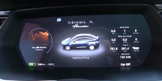 Tesla Model X sahibi -17 derecede uyuduğu aracında sabaha kadar 5 TL'ye ısındı