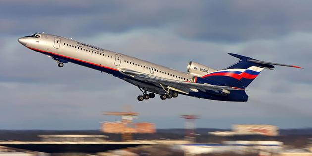 Rusya'da düşen uçaktan kurtulan yok
