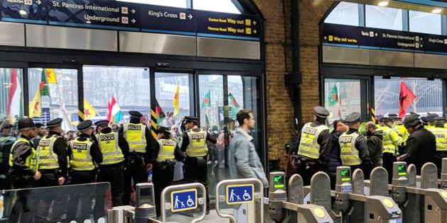 LONDRA'DA PKK KAOSU