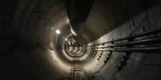 Elon Musk'ın ilk 'trafikten kaçış tüneli' testlere başlıyor
