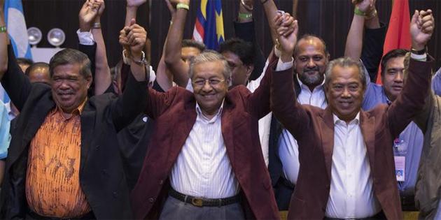 Malezya'da 92 yaşındaki muhalif lider başbakan oldu