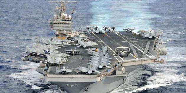 'ABD'nin uçak gemisi göndermesi psikolojik savaş'