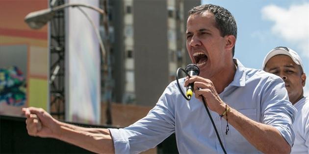 Guaido ABD ordusu ile 'İş birliği' istiyor
