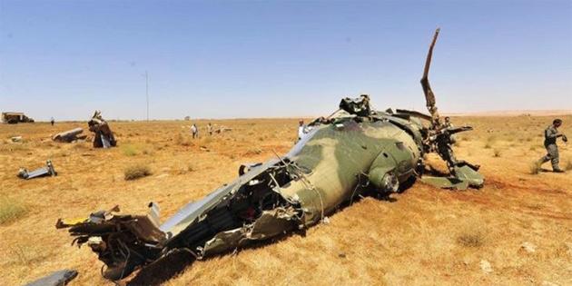Yemen'de BAE'ne ait helikopteri düştü
