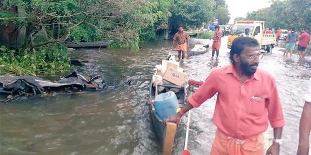 Hindistan'daki sel ve toprak kaymaları sonucu 37 kişi öldü