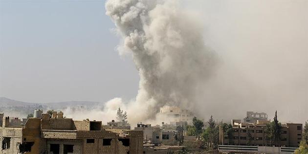Esed rejimi 8 ayda 4 binden fazla varil bombası kullandı