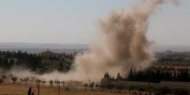 Koalisyon uçağı Rakka'da sivilleri vurdu: 14 ölü