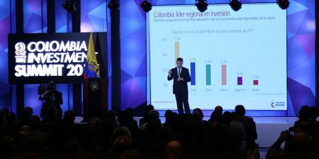 '2017 Kolombiya yatırım zirvesi' başladı