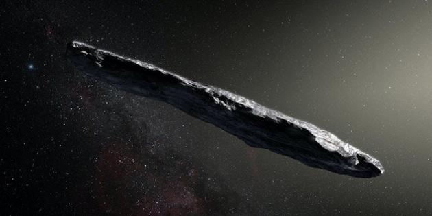 İlk uzaylı aracı güneş sistemimizde olabilir