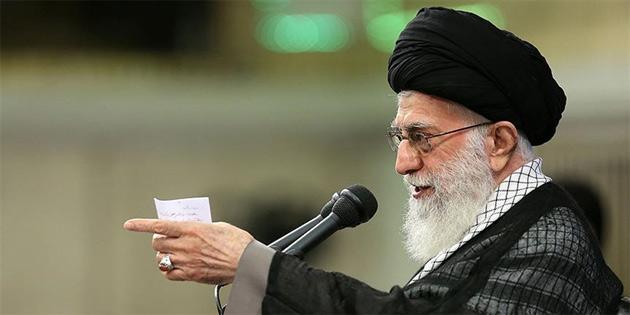 Hamaney'den 'ABD'nin İran'da iç savaş planı olabilir' açıklaması