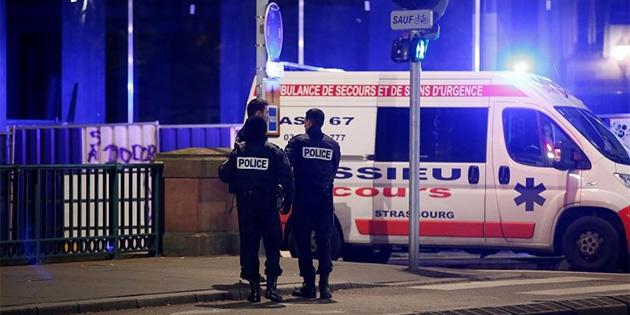 Fransa'nın Strazburg şehrindeki silahlı saldırı