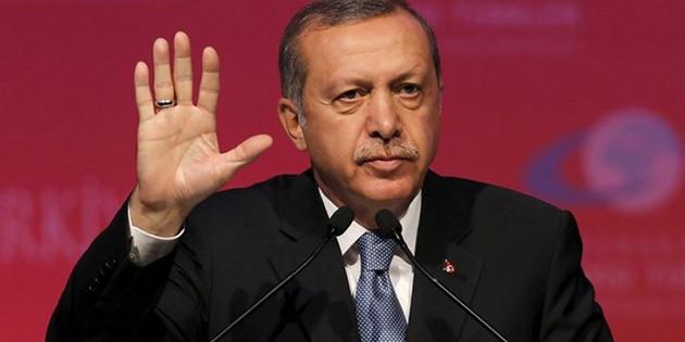 Erdoğan: 'Kıbrıs'ta ve Ege'de haddini aşanları ikaz ediyoruz...'